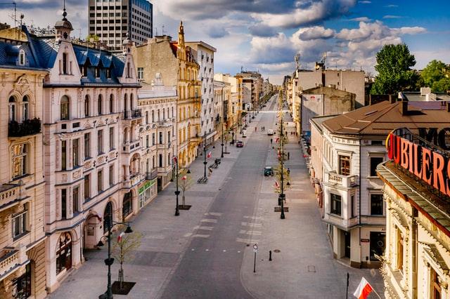 Nowoczesna Łódź